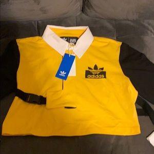 adidas Original Rugby Strap Ling Sleeve Shirt